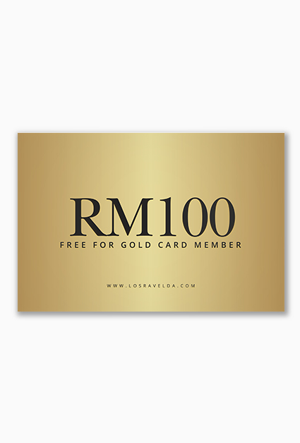 Gold Member – Free 100 Points (RM100)