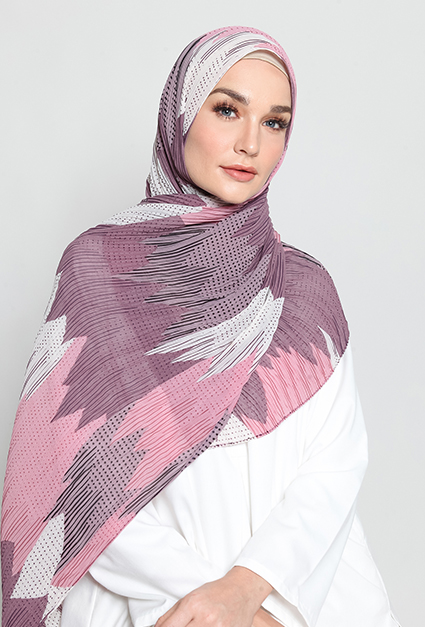 AVVA PLEATED SHAWL