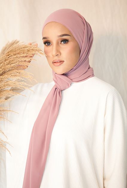 LISA (Chiffon Eyelash Shawl)